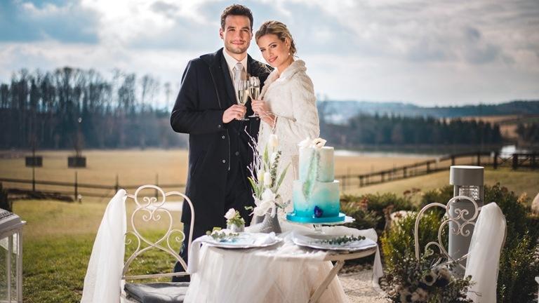 Možnost svatebního obřadu v unikátní přírodě našeho resortu s výhledem na oboru s vysokou zvěří.