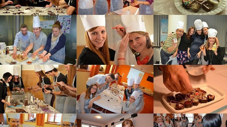 Čokoládový den je relaxační teambuildingový a společenský program plný podmanivých vůní a chutí.
